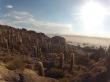 Vista da Ilha de Cactus