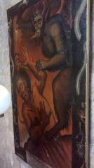 Esse quadro que retrata o inferno tem mais de 200 anos